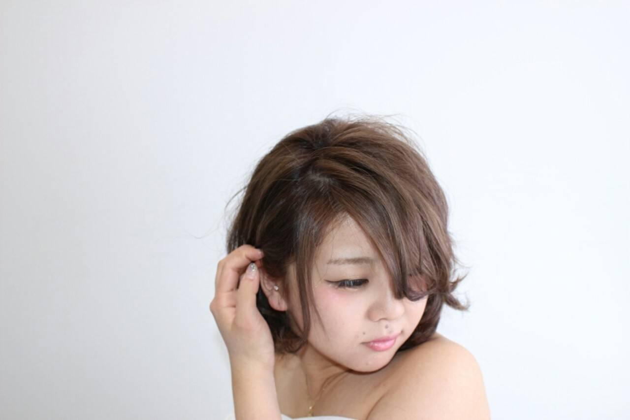 ナチュラル 前髪あり 外国人風 モテ髪ヘアスタイルや髪型の写真・画像
