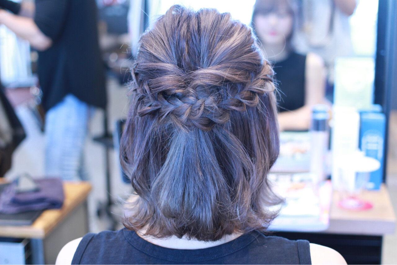 パステルカラー アッシュ 外国人風カラー ナチュラルヘアスタイルや髪型の写真・画像