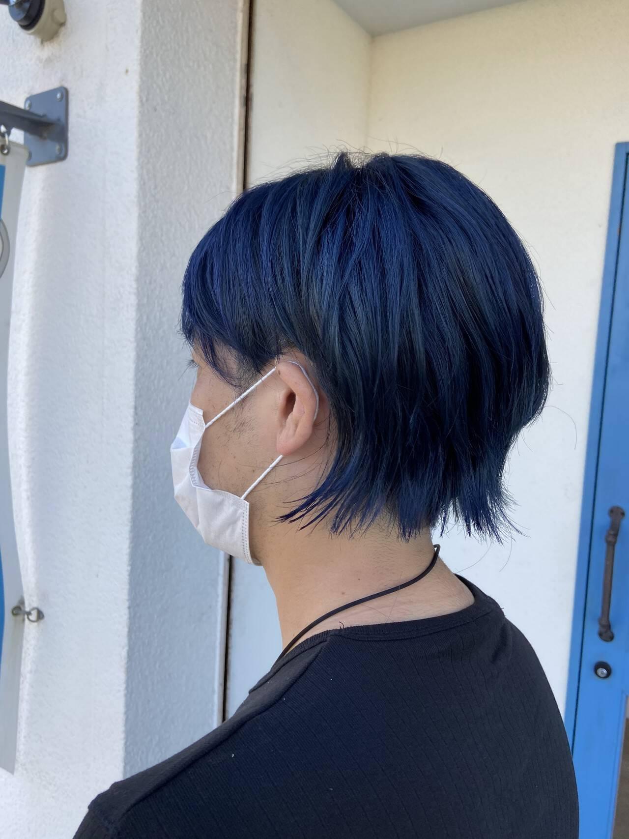 メンズカット メンズヘア メンズショート ガーリーヘアスタイルや髪型の写真・画像