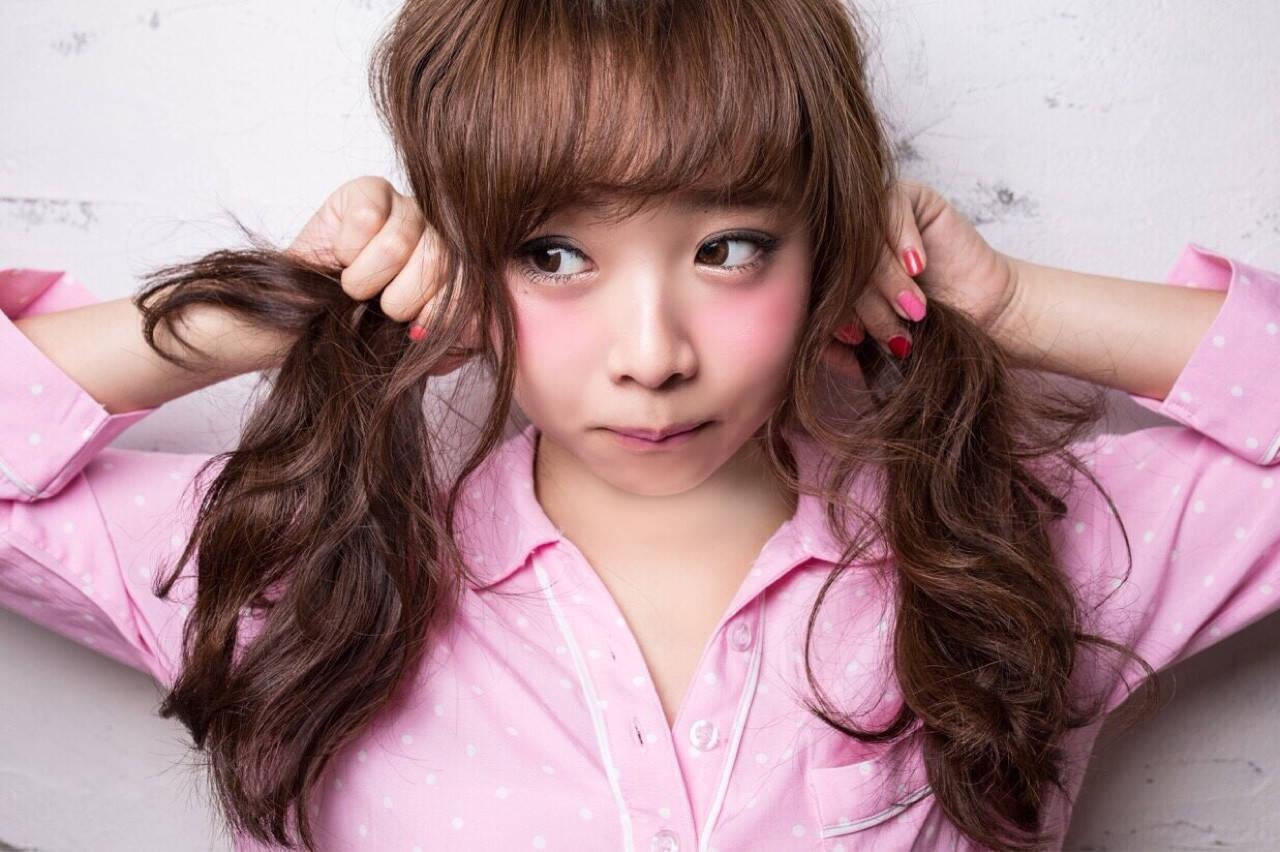 ロング ふわふわ ショート ゆるふわヘアスタイルや髪型の写真・画像