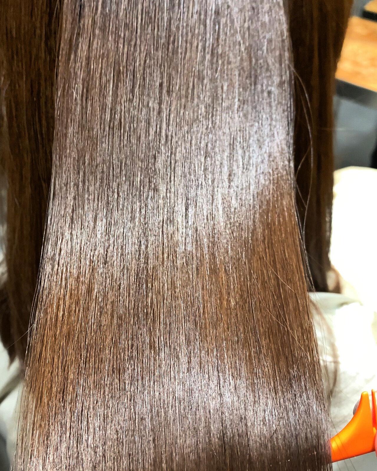 髪質改善 ナチュラル 最新トリートメント ロングヘアスタイルや髪型の写真・画像