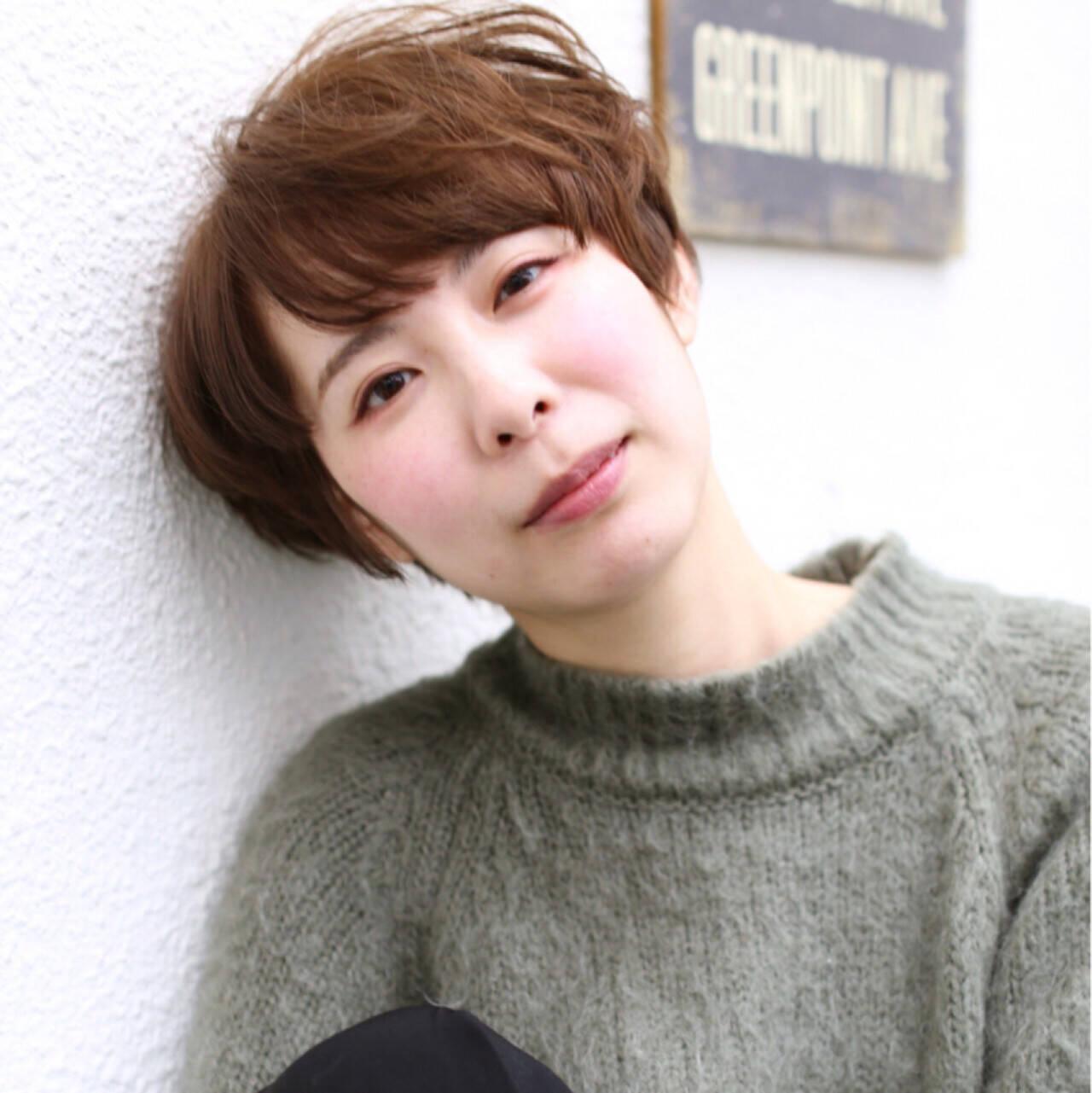 ストリート 外国人風 ベリーショート イルミナカラーヘアスタイルや髪型の写真・画像