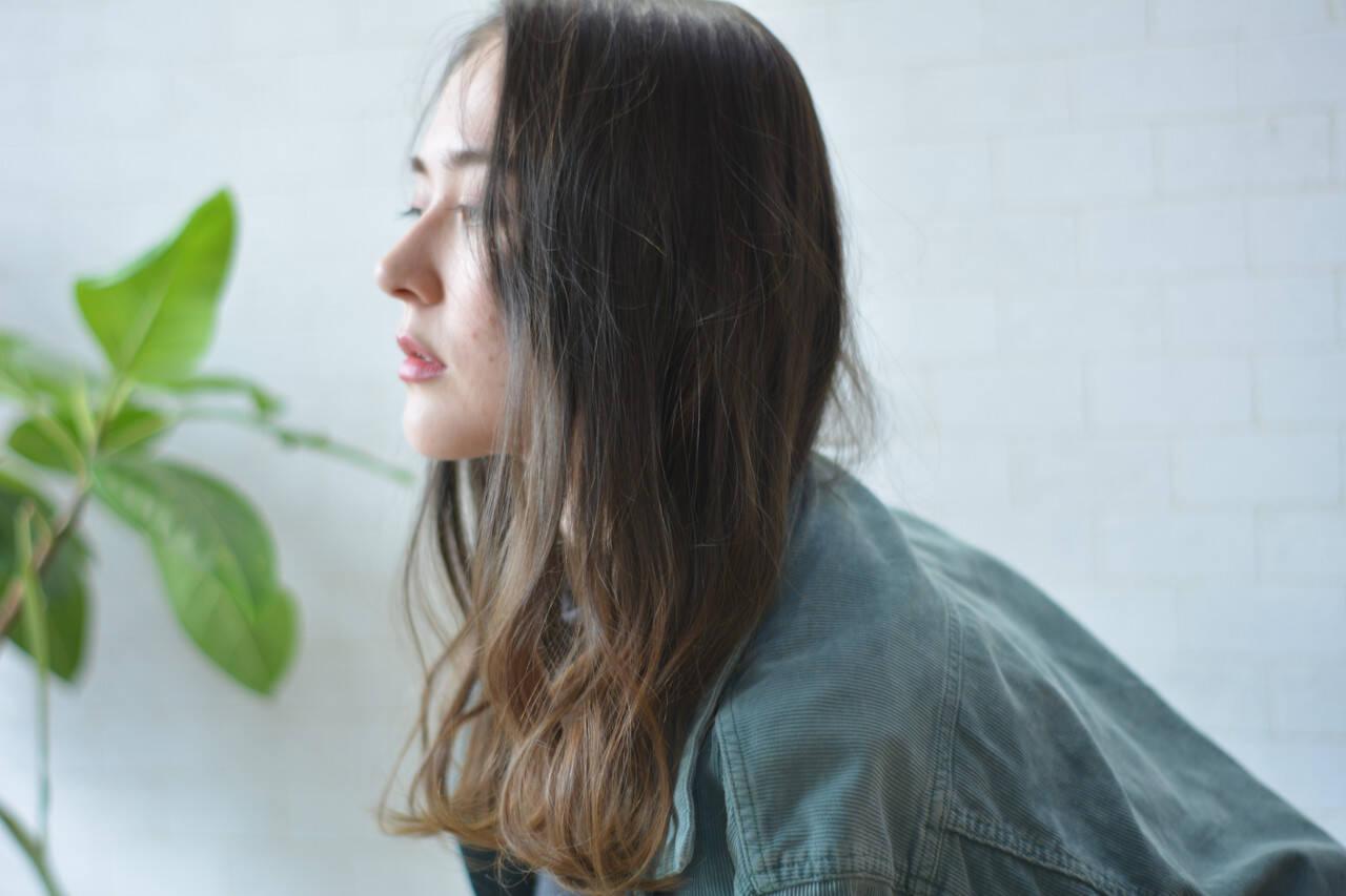 インナーカラー 髪質改善 美髪 髪質改善トリートメントヘアスタイルや髪型の写真・画像