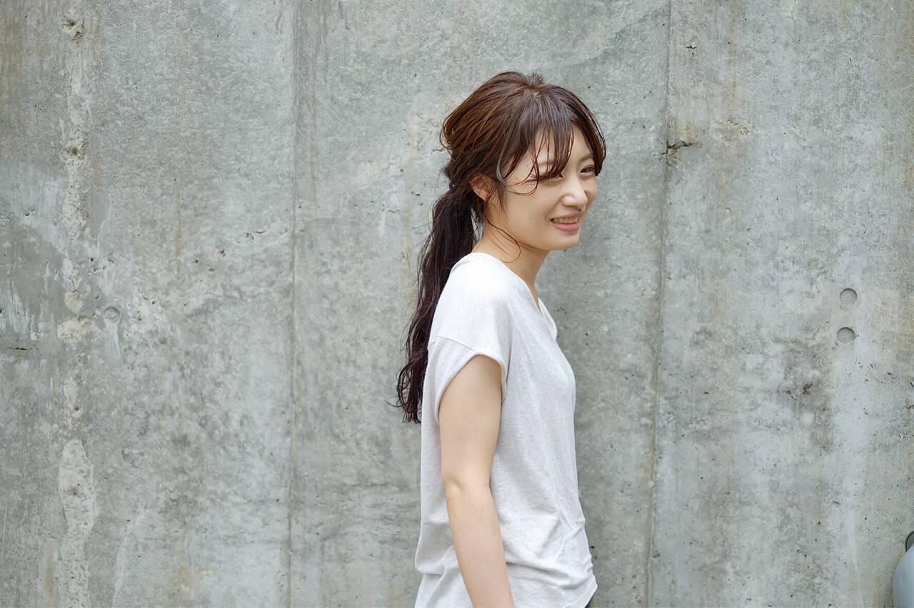 大人女子 ヘアアレンジ 秋 ピュアヘアスタイルや髪型の写真・画像