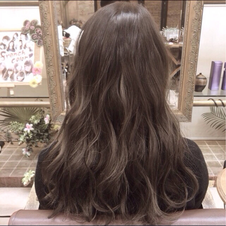 ガーリー ミディアム 暗髪 外国人風ヘアスタイルや髪型の写真・画像