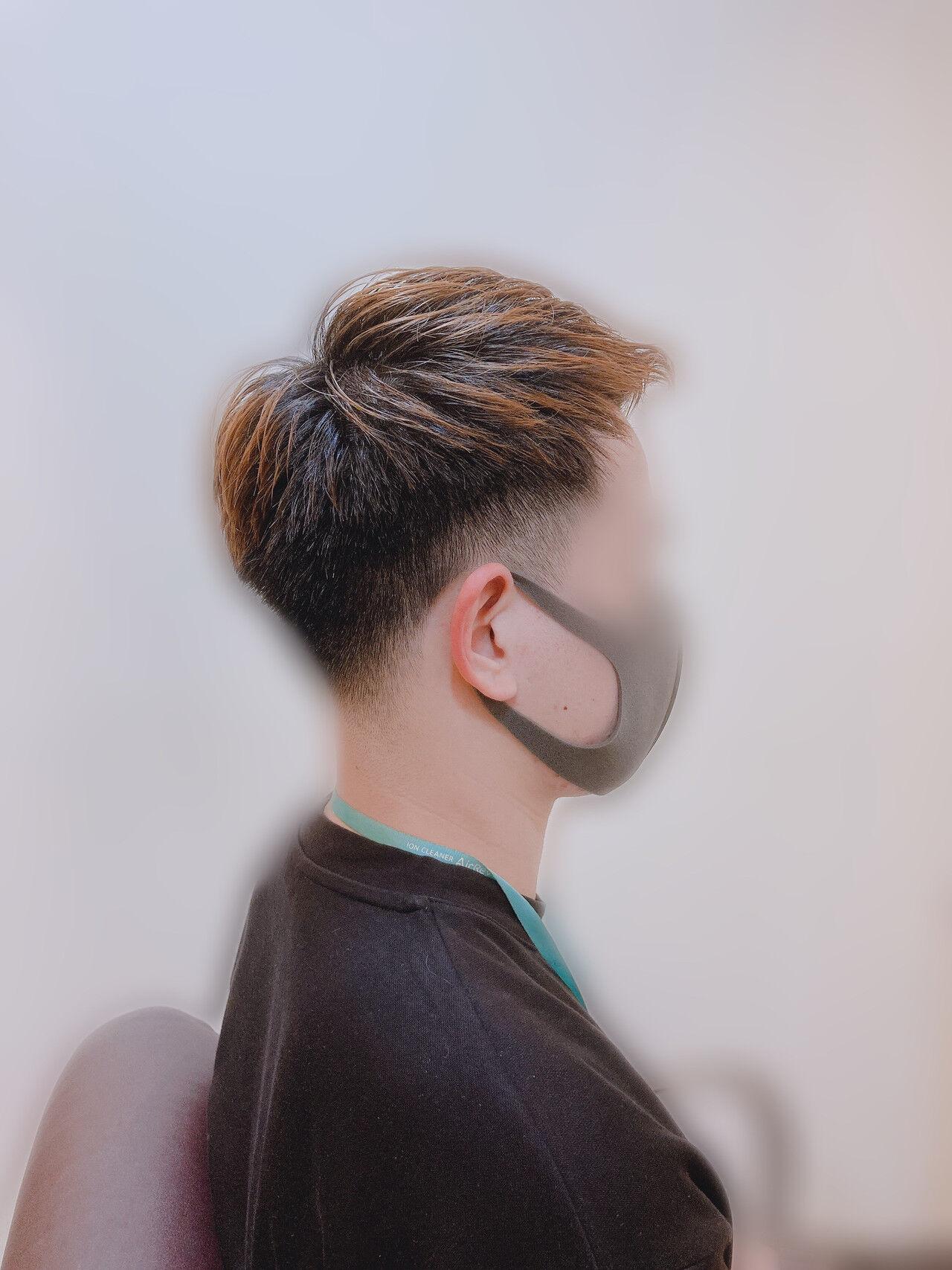 メンズカジュアル メンズカット ストリート ショートヘアスタイルや髪型の写真・画像