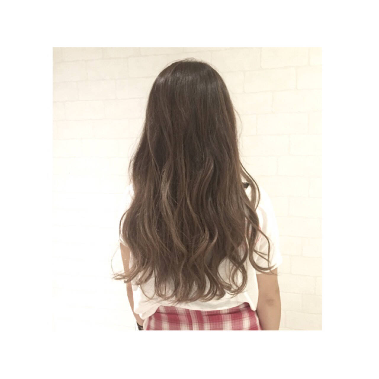 外国人風 ゆるふわ 大人かわいい ロングヘアスタイルや髪型の写真・画像