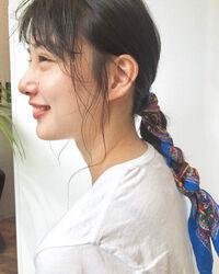 バンダナ・スカーフの簡単ヘアアレンジ♡ショート~ロングまでご紹介