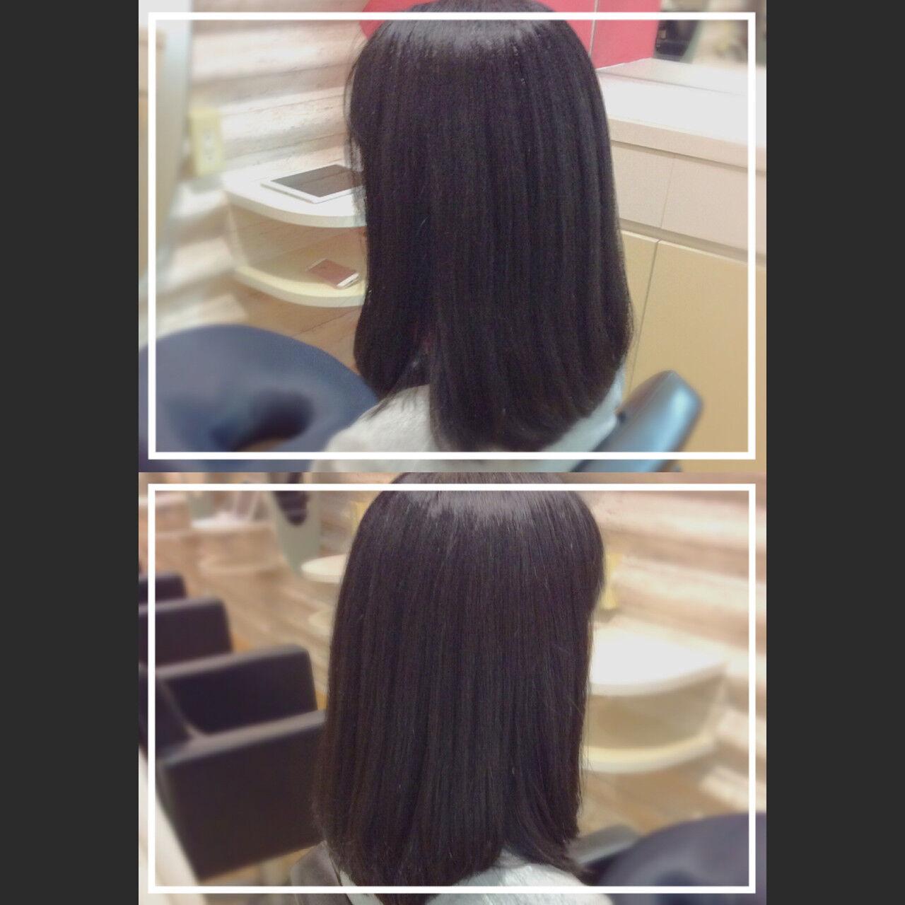 ロング 髪質改善 大人ヘアスタイル 艶髪ヘアスタイルや髪型の写真・画像