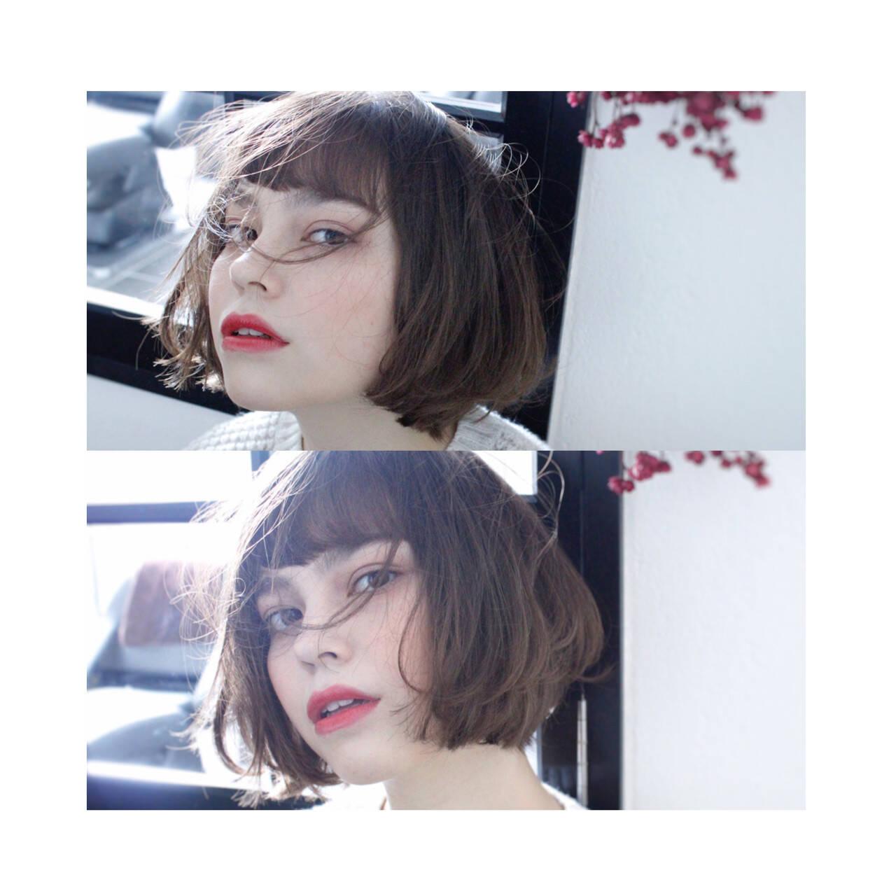 小顔 ハイライト 大人女子 外国人風ヘアスタイルや髪型の写真・画像