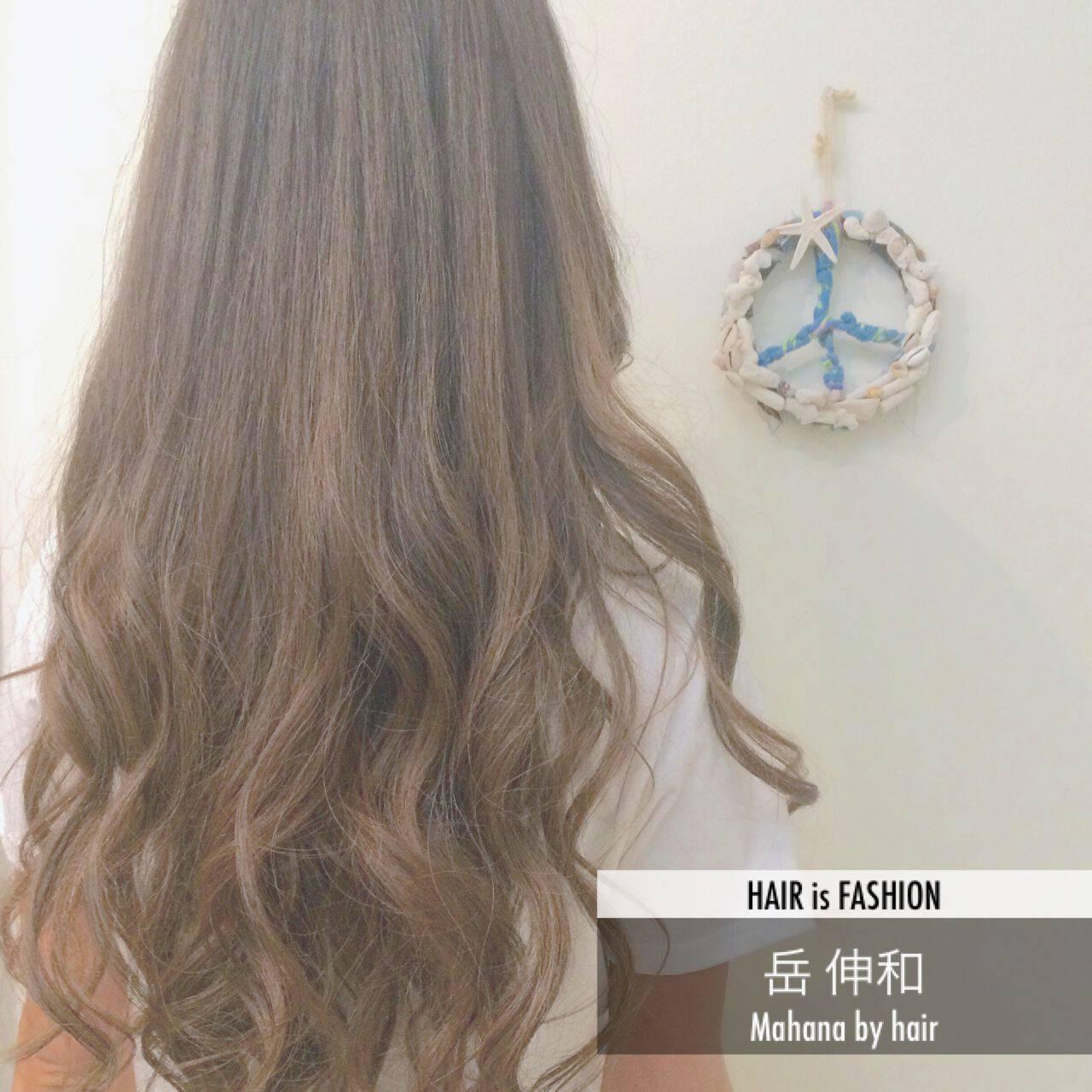 春 ロング ストリートヘアスタイルや髪型の写真・画像