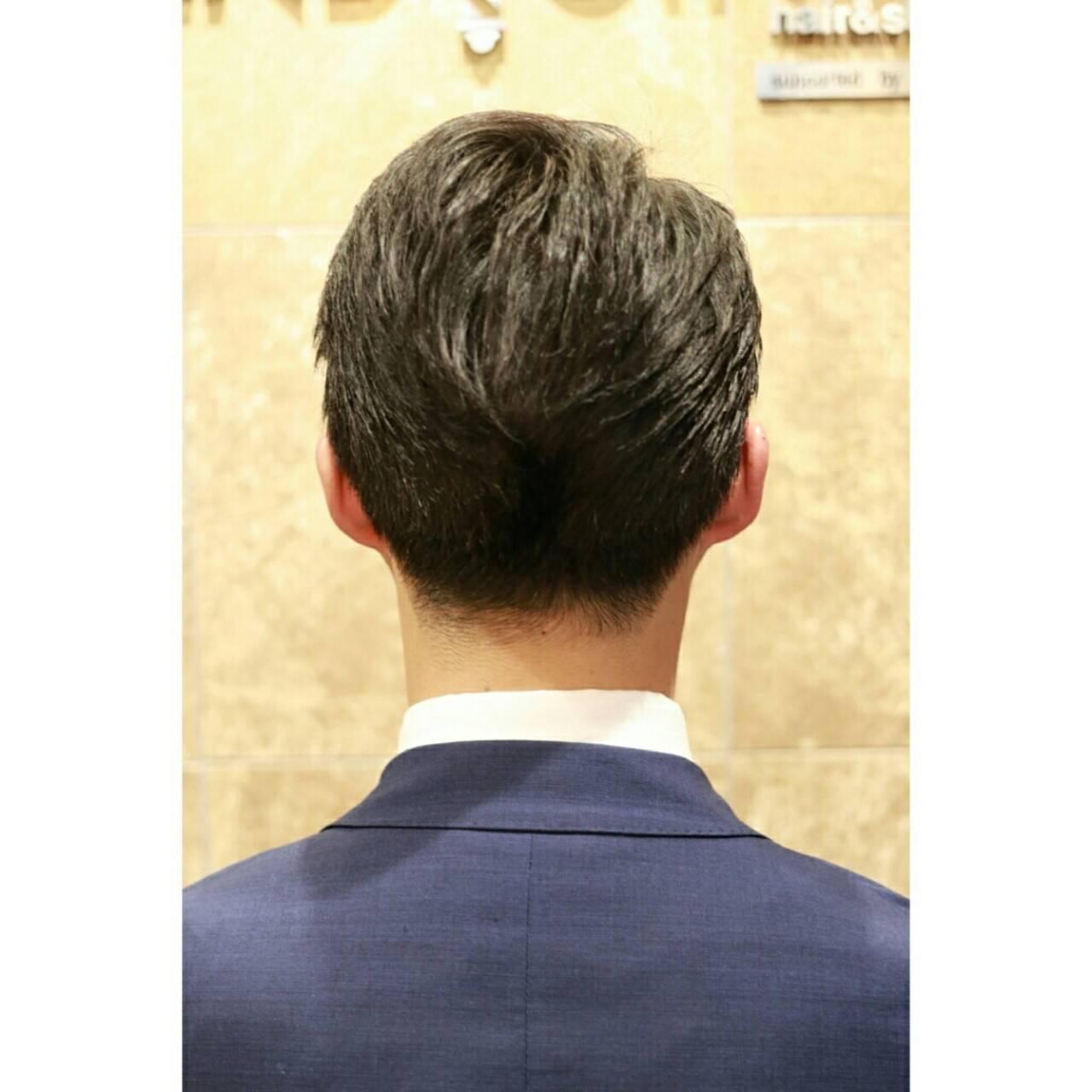 エレガント ショート 上品 メンズヘアスタイルや髪型の写真・画像