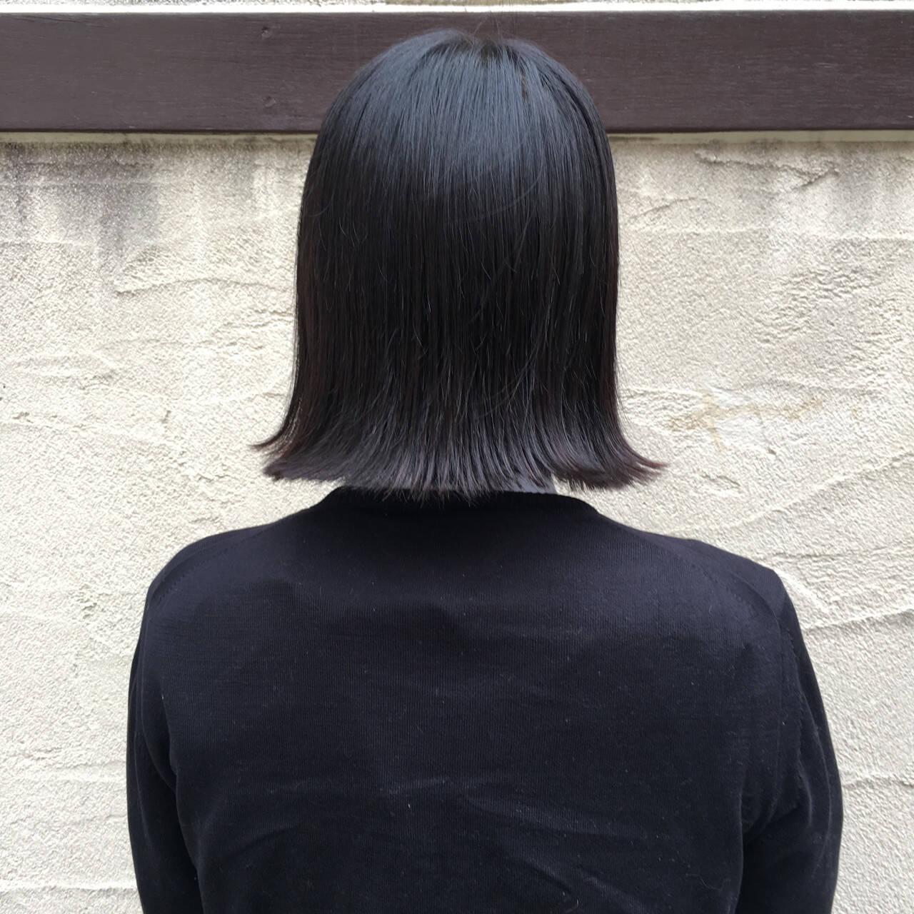 アッシュ ナチュラル こなれ感 色気ヘアスタイルや髪型の写真・画像