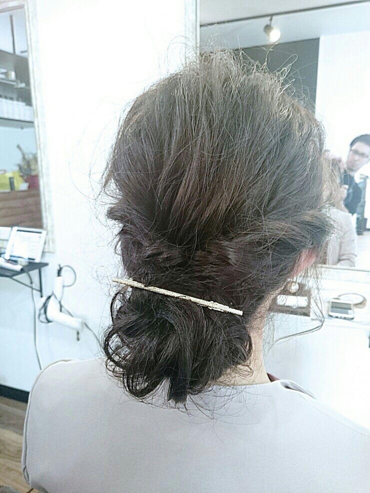 編み込み 大人かわいい ロング 簡単ヘアアレンジヘアスタイルや髪型の写真・画像