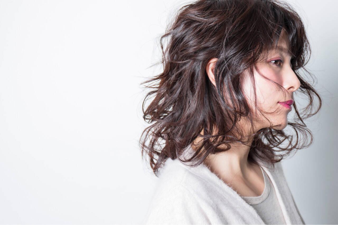 上品 愛され モテ髪 ゆるふわヘアスタイルや髪型の写真・画像