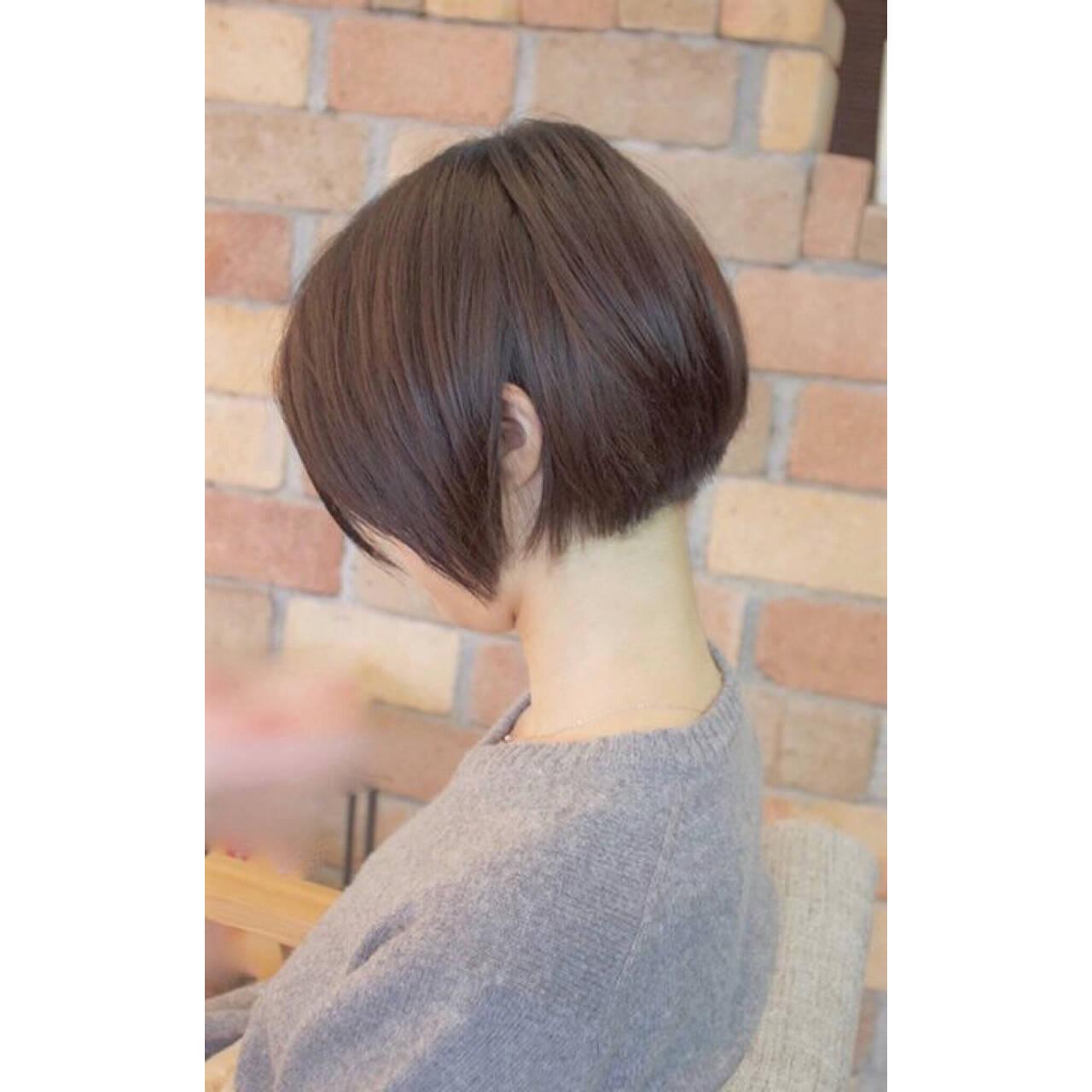デート ナチュラル スポーツ ショートヘアスタイルや髪型の写真・画像