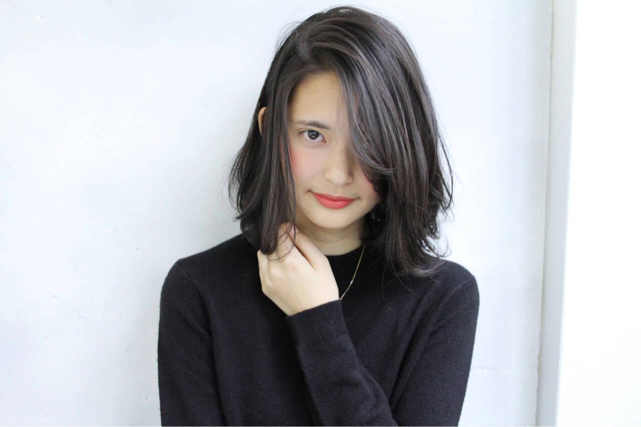 大人女子 こなれ感 ナチュラル 色気ヘアスタイルや髪型の写真・画像