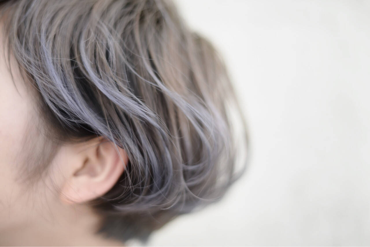 グラデーションカラー 外国人風 インナーカラー ストリートヘアスタイルや髪型の写真・画像