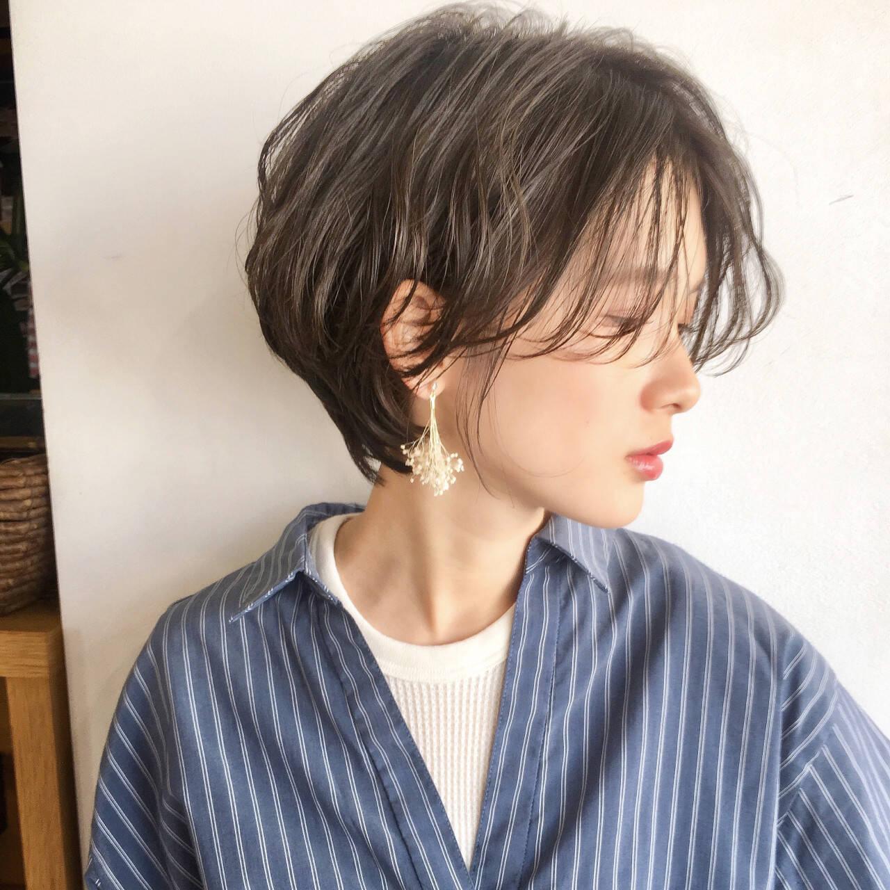 オフィス スポーツ デート エフォートレスヘアスタイルや髪型の写真・画像