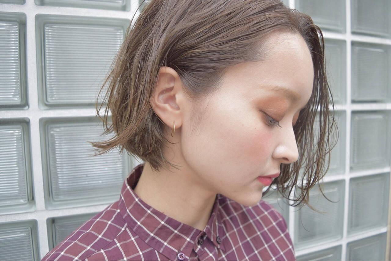 ヘアアレンジ ハイライト 色気 大人女子ヘアスタイルや髪型の写真・画像