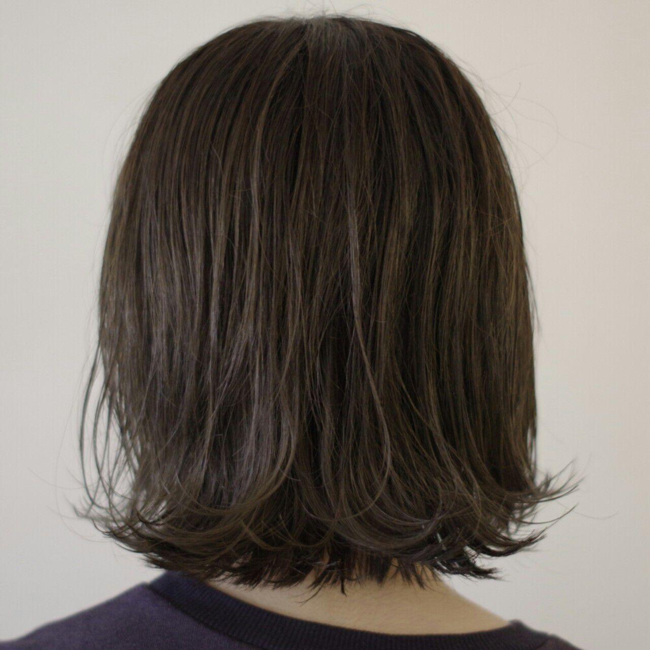色気 ウェットヘア ネイビー モードヘアスタイルや髪型の写真・画像