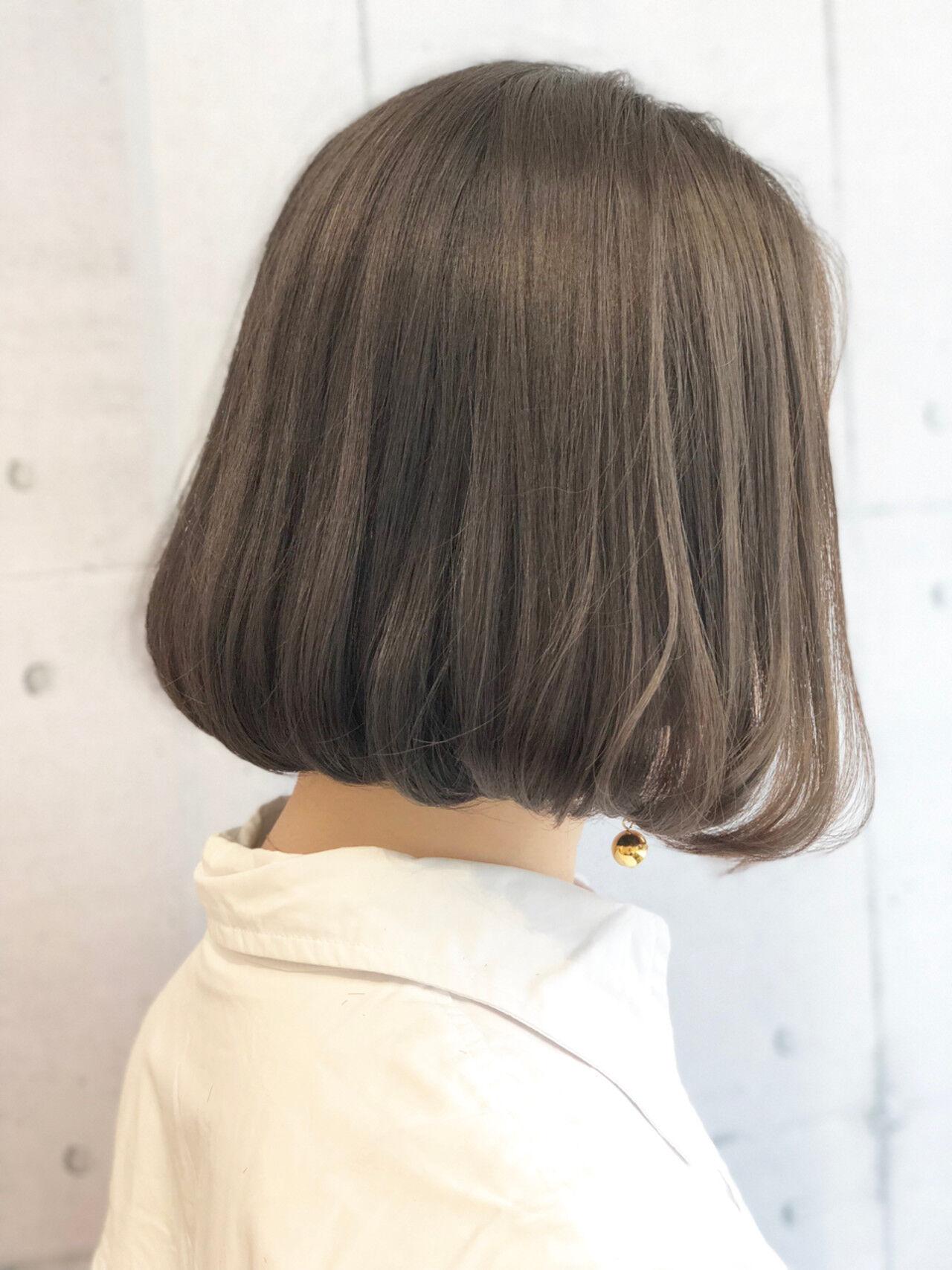 かわいい ゆるふわ ボブ ふんわりヘアスタイルや髪型の写真・画像