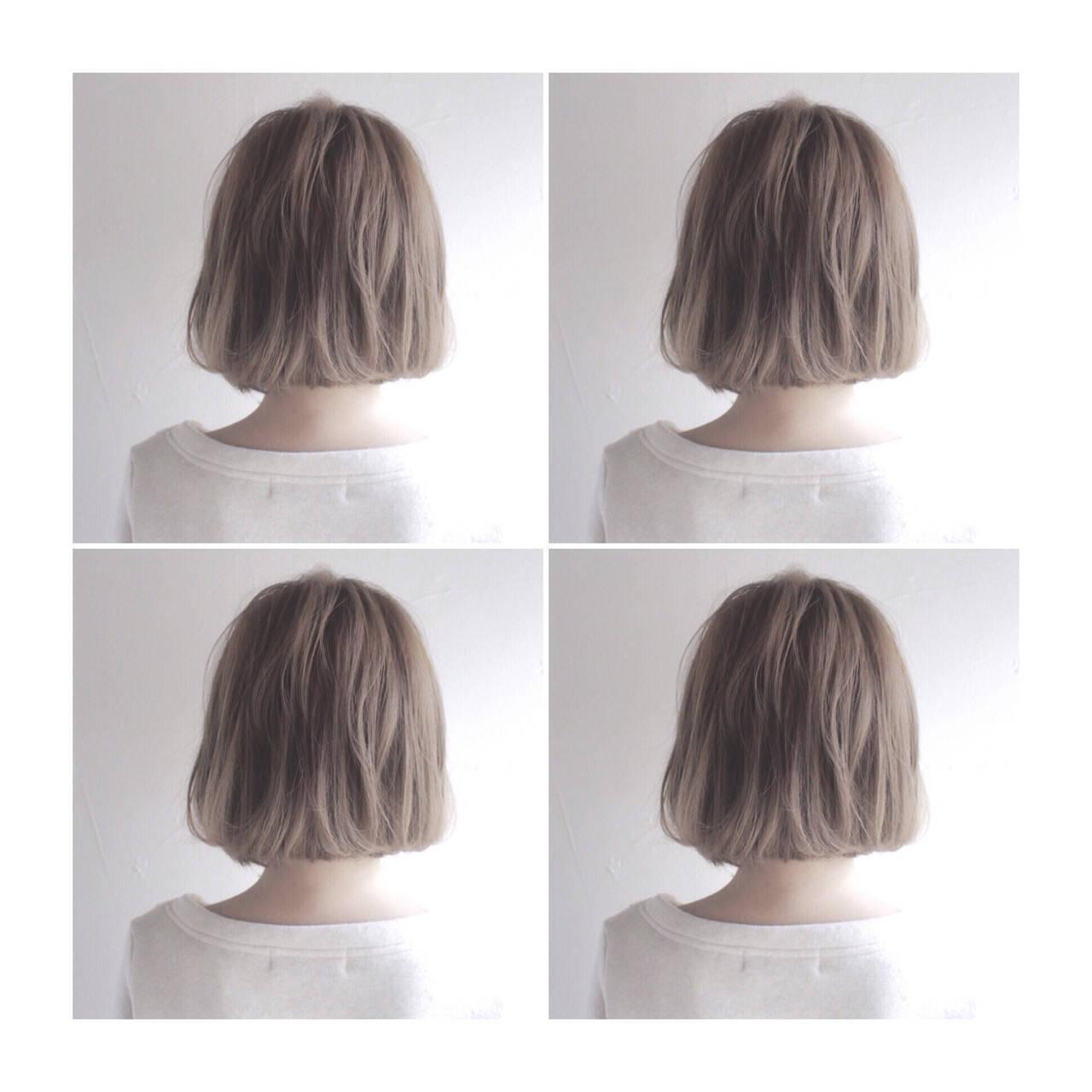 ハイライト ヘアアレンジ 色気 ストリートヘアスタイルや髪型の写真・画像