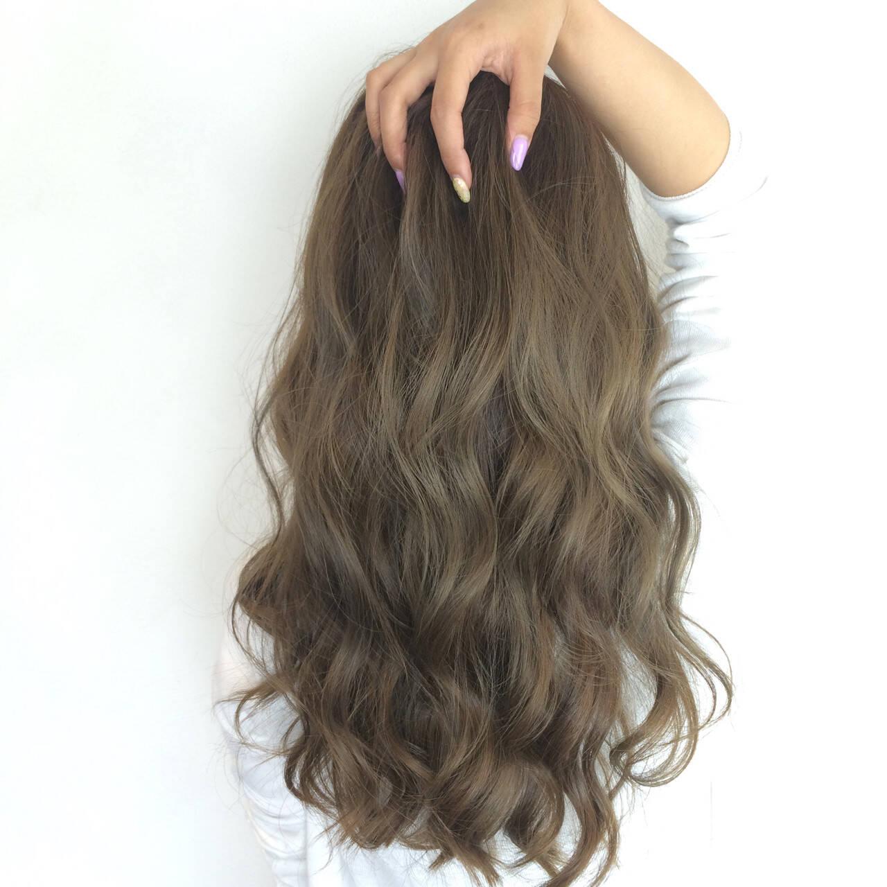 オリーブアッシュ ストリート アッシュ 大人かわいいヘアスタイルや髪型の写真・画像