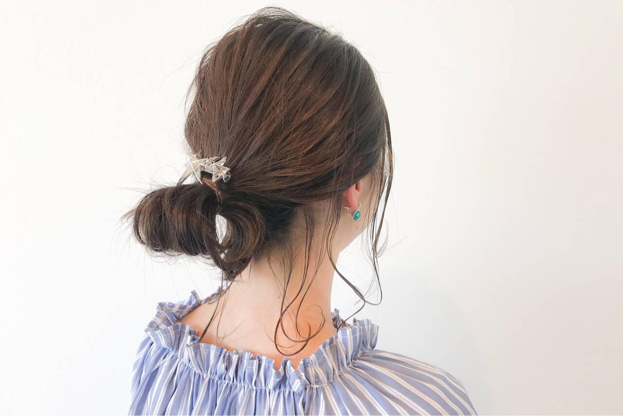 ナチュラル リラックス ミディアム イルミナカラーヘアスタイルや髪型の写真・画像