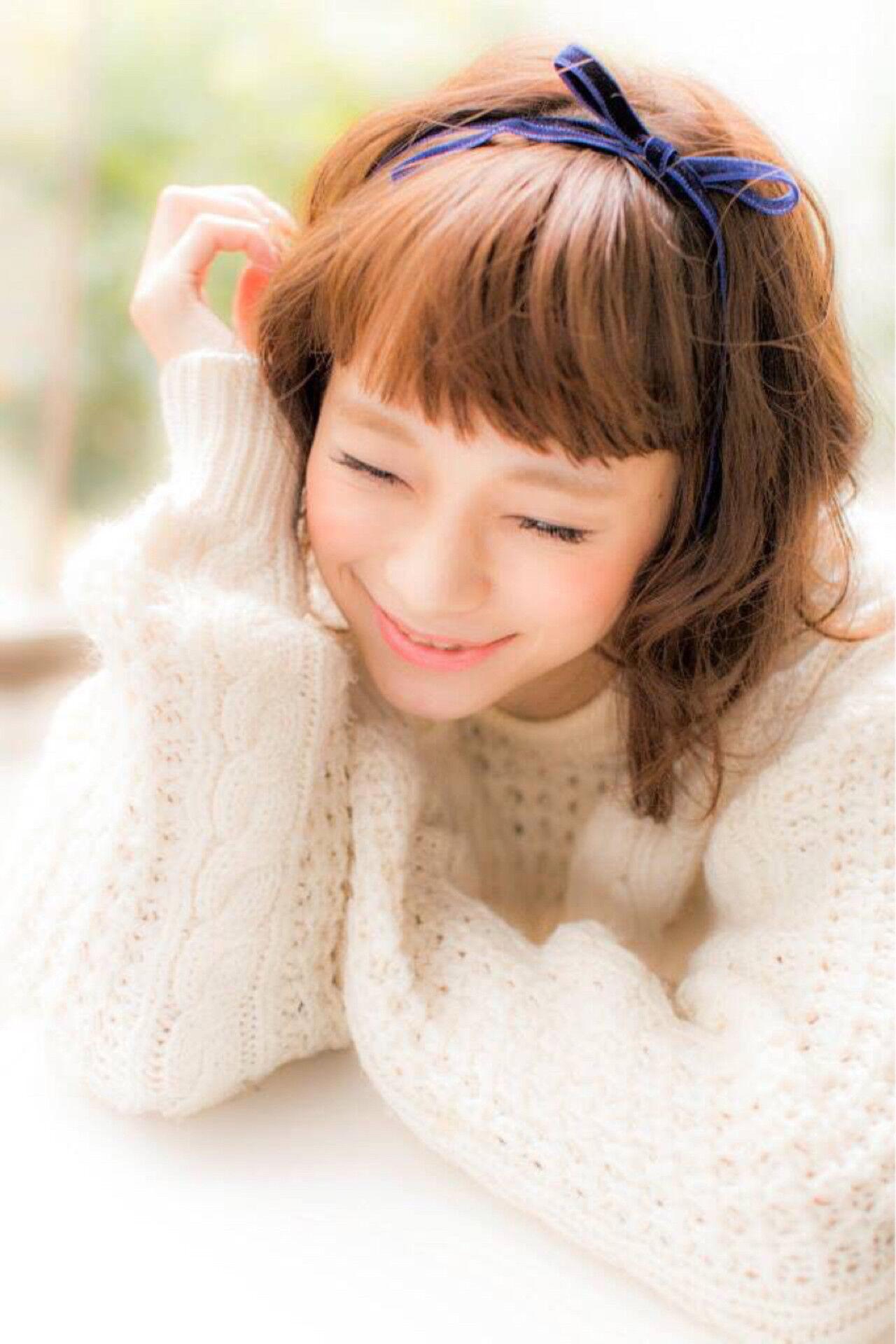 ヘアアレンジ ゆるふわ フェミニン 簡単ヘアアレンジヘアスタイルや髪型の写真・画像
