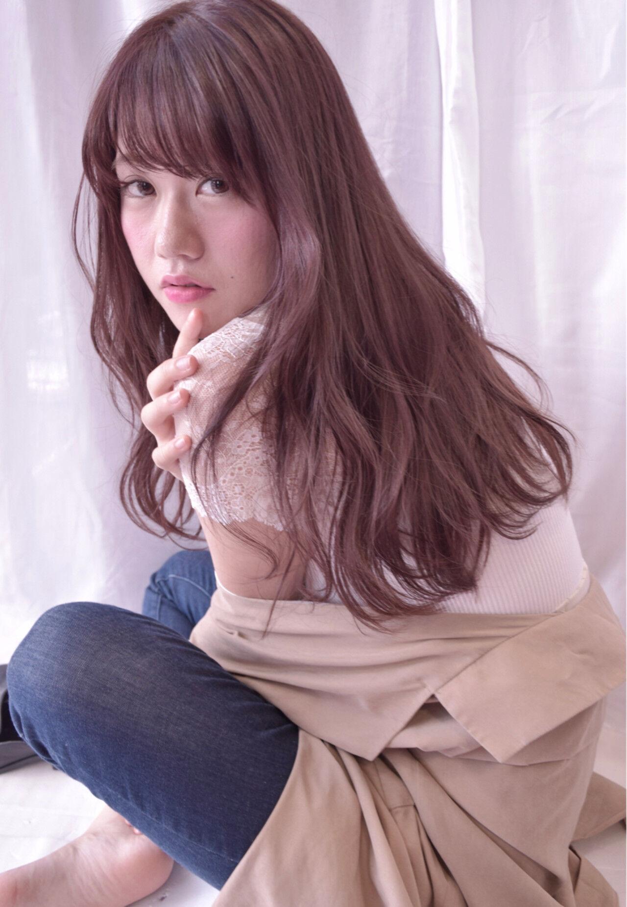 大人女子 ガーリー アンニュイ 外国人風ヘアスタイルや髪型の写真・画像