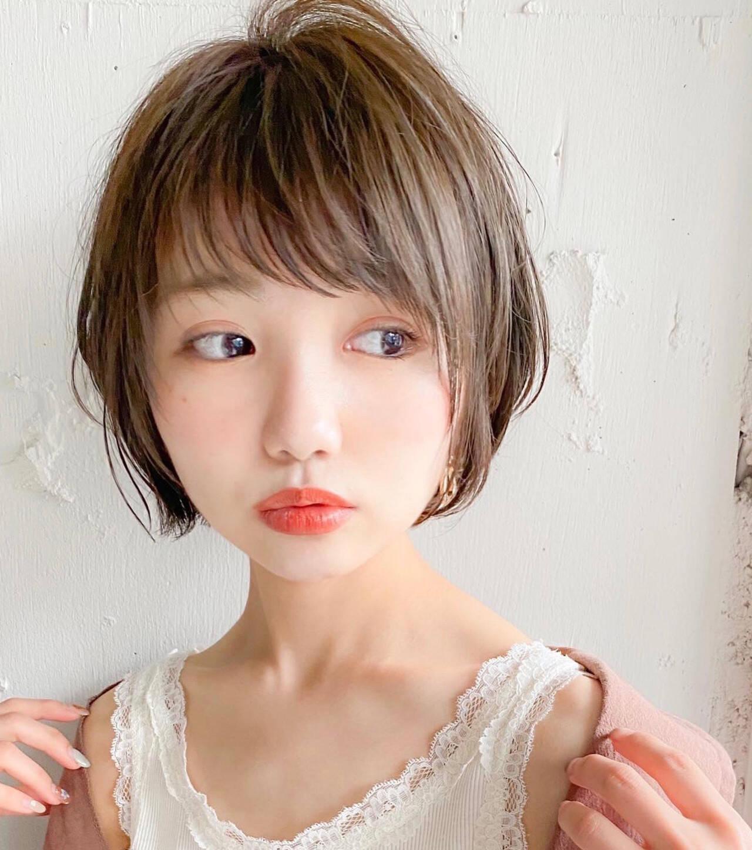 大人かわいい ナチュラル ショート スポーツヘアスタイルや髪型の写真・画像