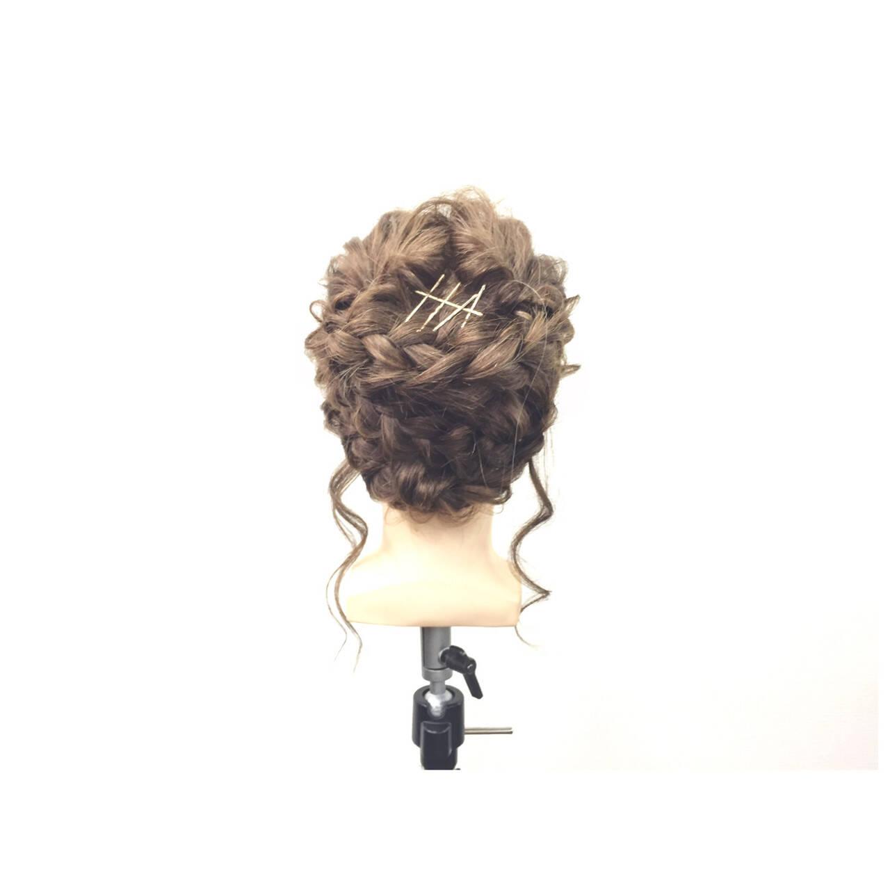 ヘアピン ショート ヘアアクセ ヘアアレンジヘアスタイルや髪型の写真・画像