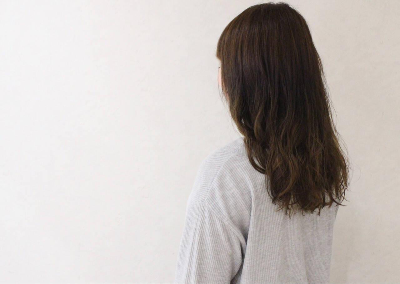 大人かわいい ゆるふわ ナチュラル アンニュイヘアスタイルや髪型の写真・画像