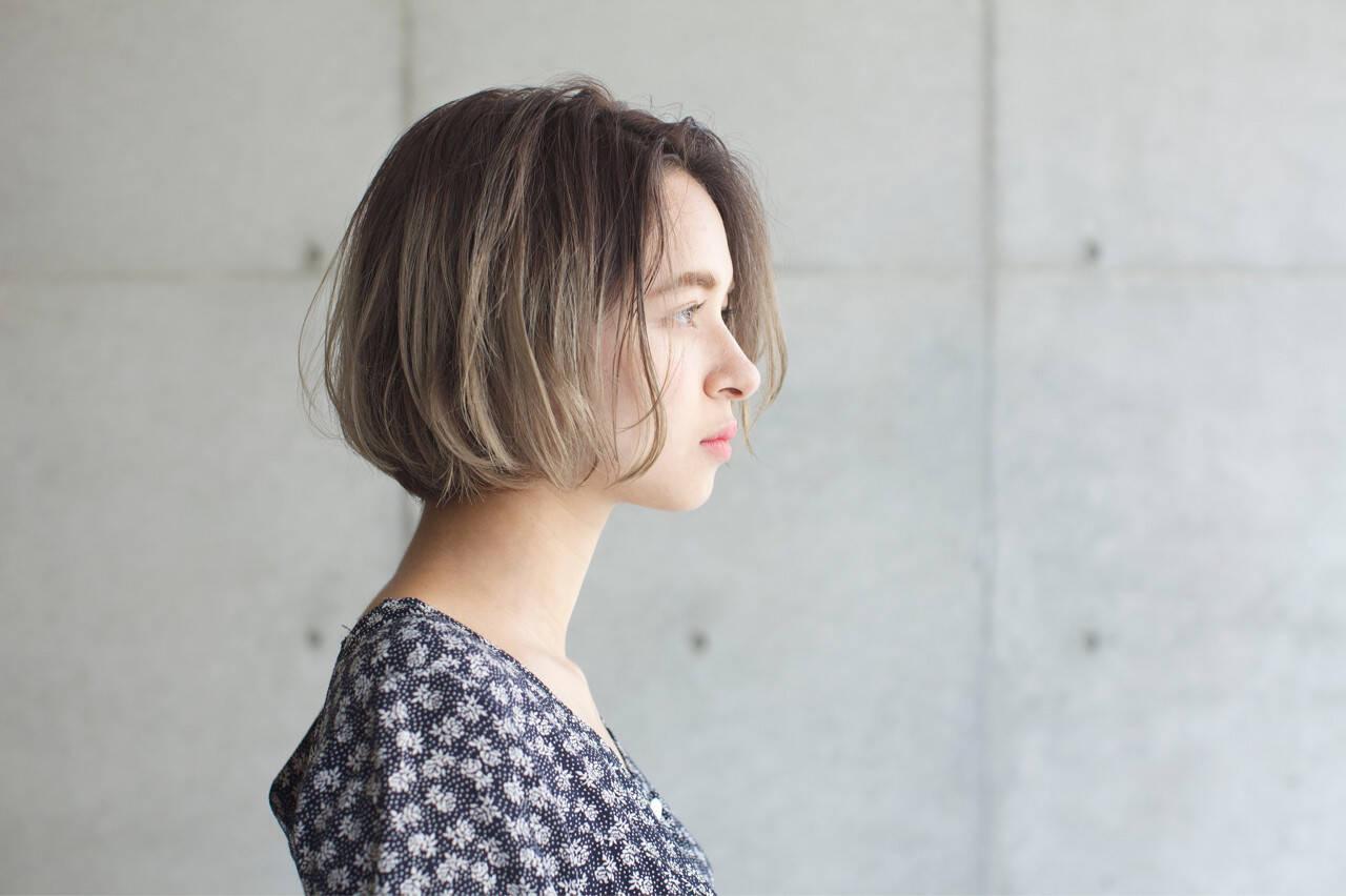 ハイライト 外国人風カラー ゆるふわ 秋ヘアスタイルや髪型の写真・画像