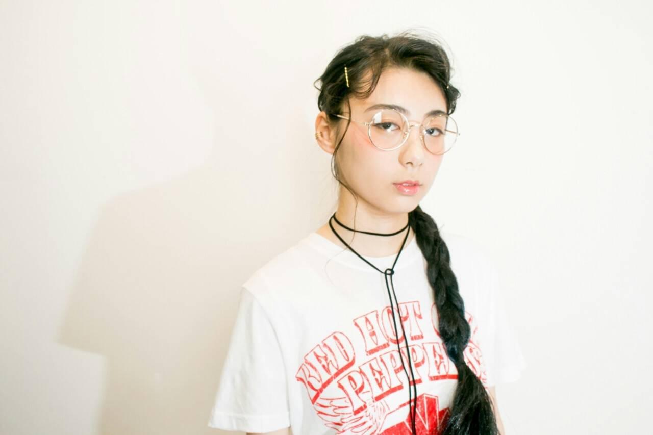 レディース 簡単ヘアアレンジ 夏 ショートヘアスタイルや髪型の写真・画像