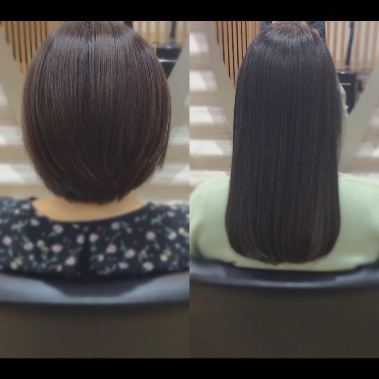 ロング 髪質改善 ロングヘア 髪質改善トリートメントヘアスタイルや髪型の写真・画像