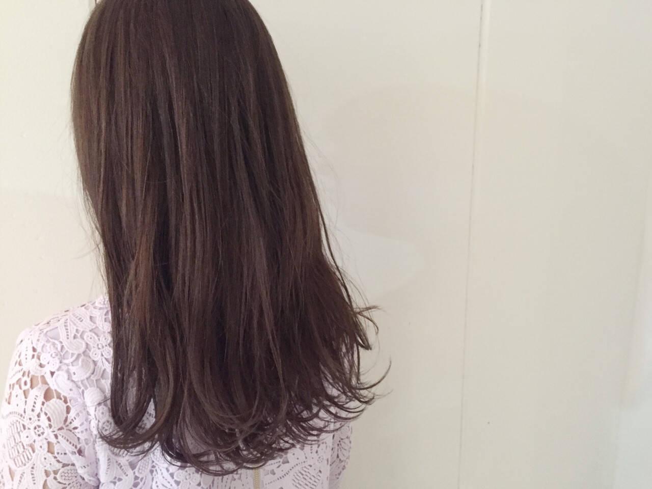 外国人風 ハイライト ストリート ロングヘアスタイルや髪型の写真・画像