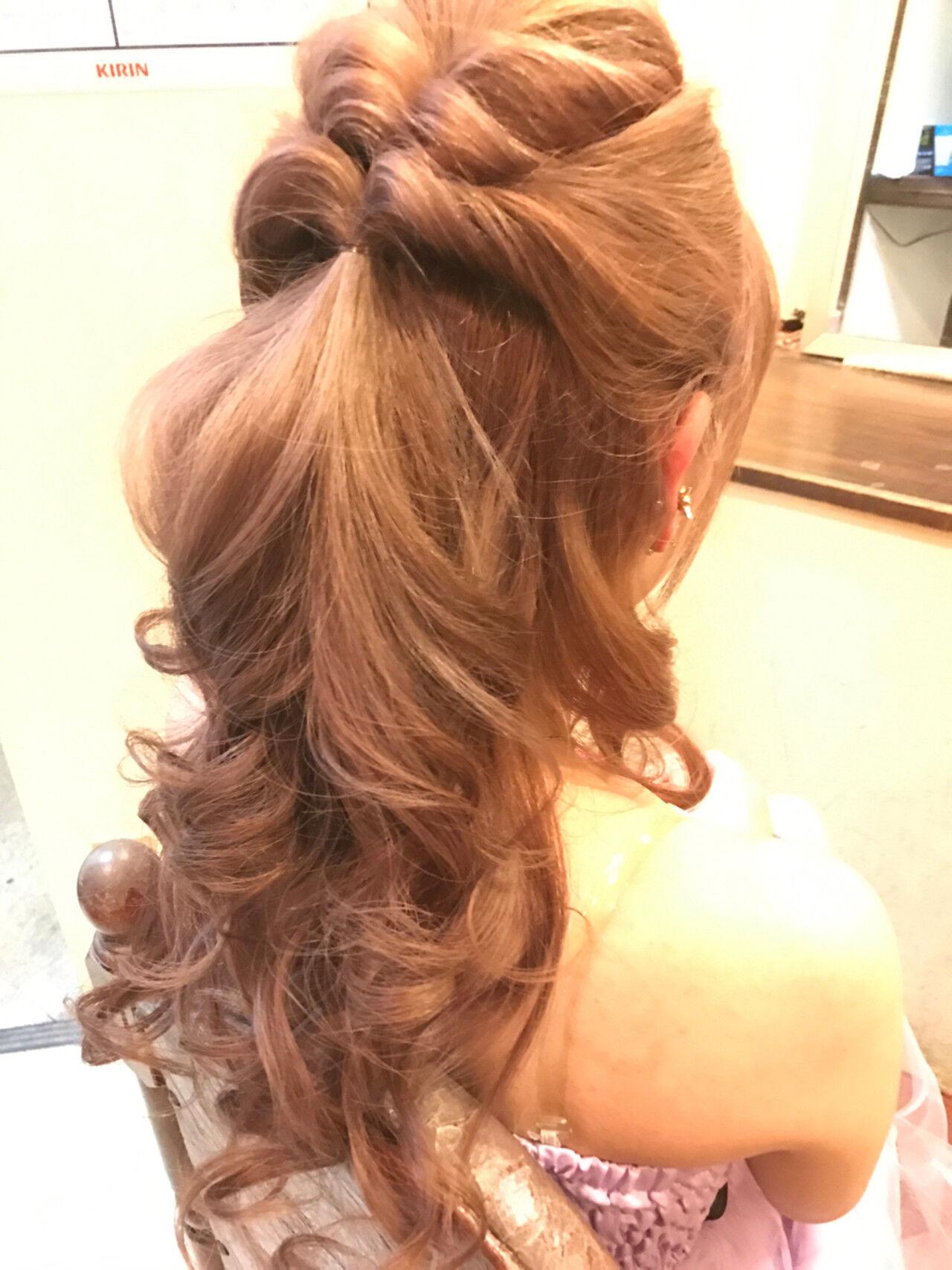 編み込み 簡単ヘアアレンジ 結婚式 ショートヘアスタイルや髪型の写真・画像