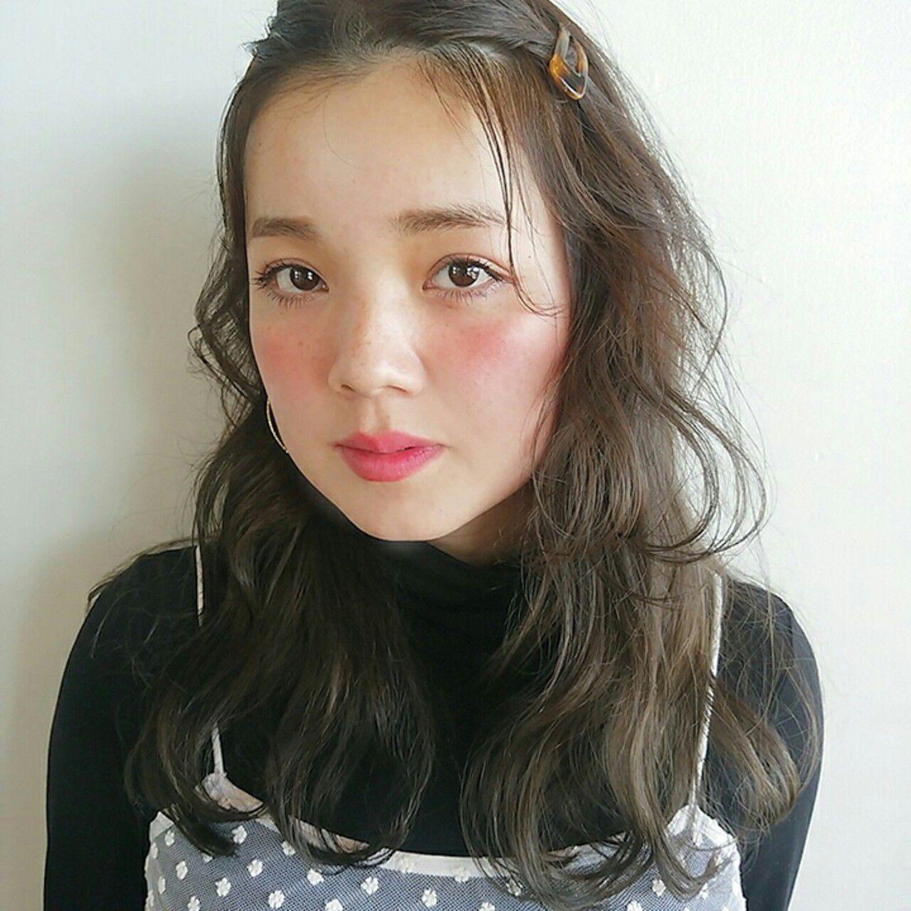 ゆるふわ こなれ感 外国人風 大人かわいいヘアスタイルや髪型の写真・画像