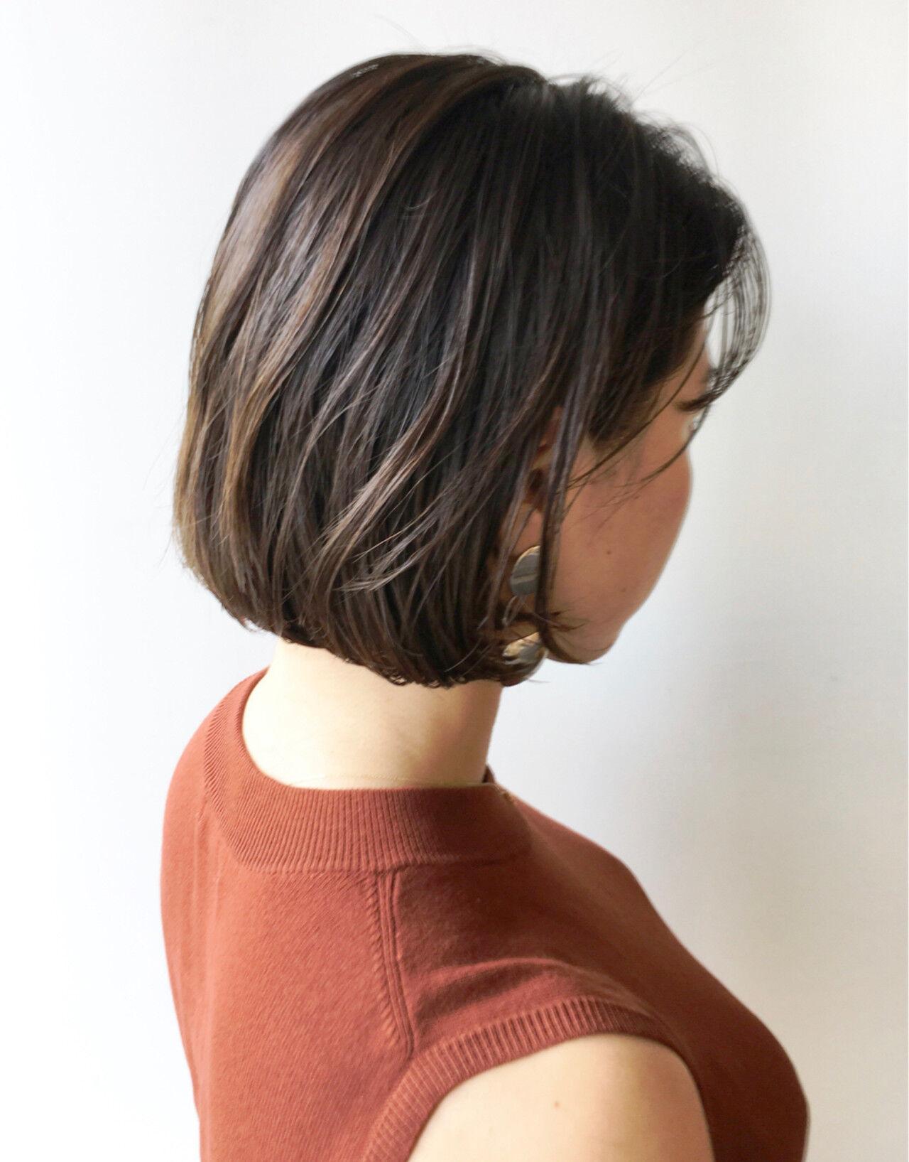 大人かわいい ナチュラル ハイライト 透明感ヘアスタイルや髪型の写真・画像