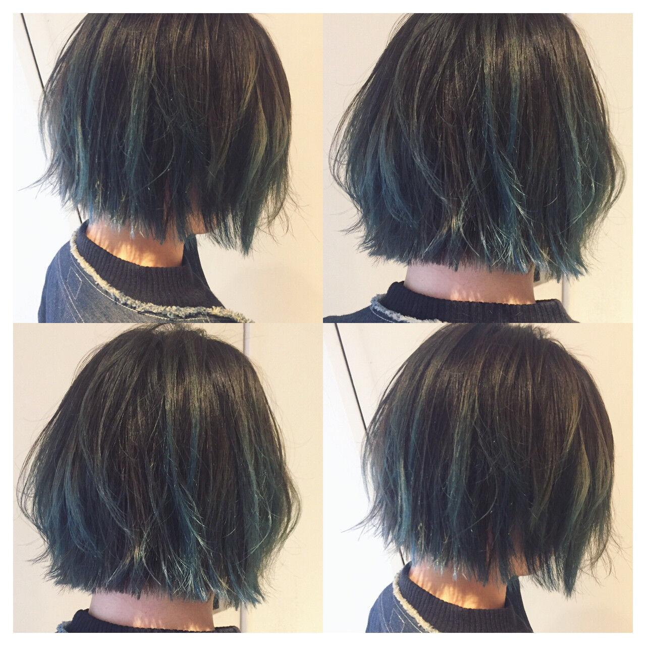 外国人風カラー 外国人風 ブリーチ アッシュヘアスタイルや髪型の写真・画像