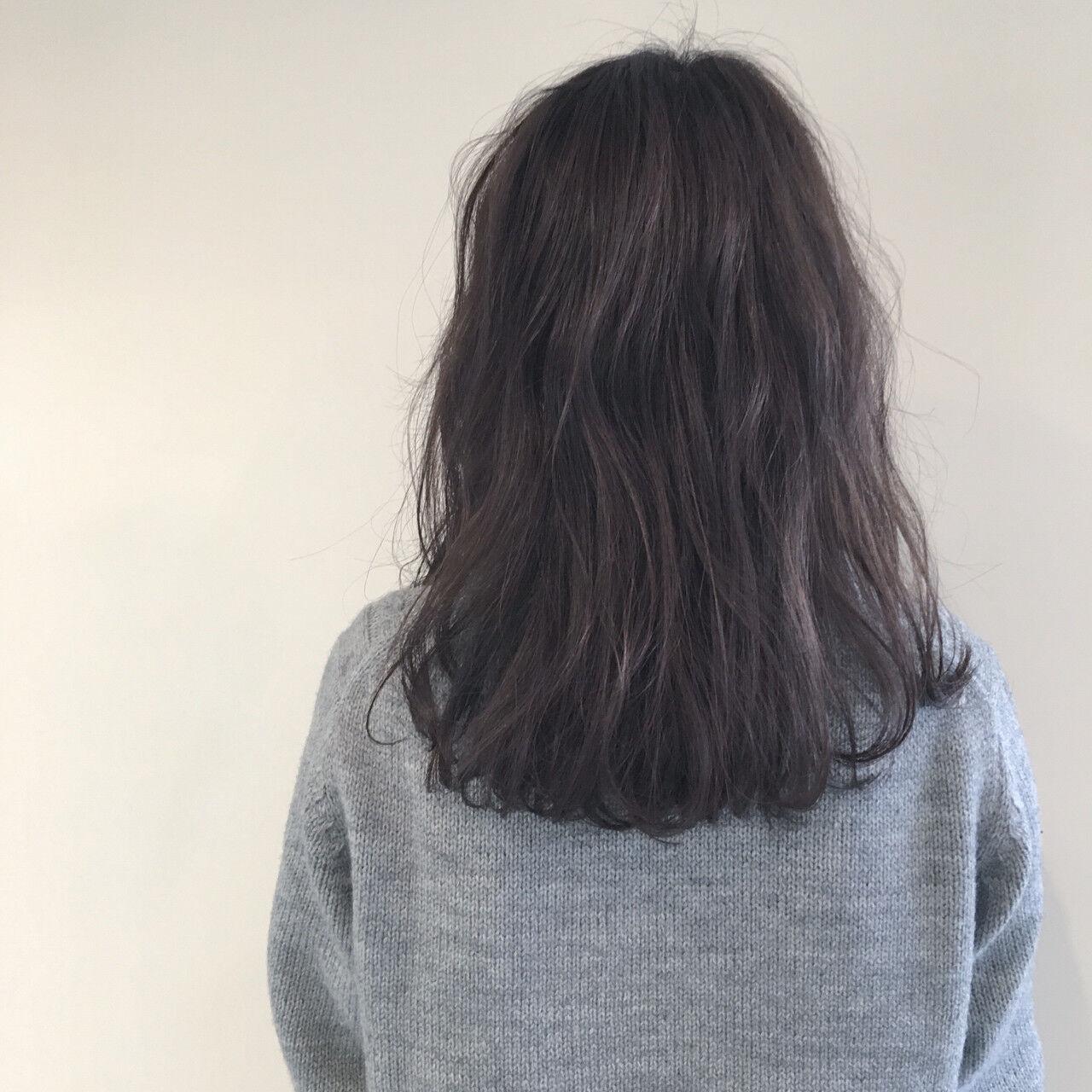 ナチュラル ニュアンス デート ゆるふわヘアスタイルや髪型の写真・画像