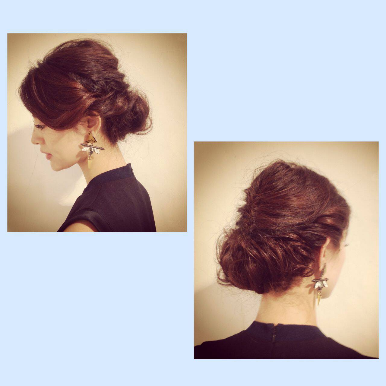 ヘアアレンジ コンサバ 結婚式 アンティークヘアスタイルや髪型の写真・画像