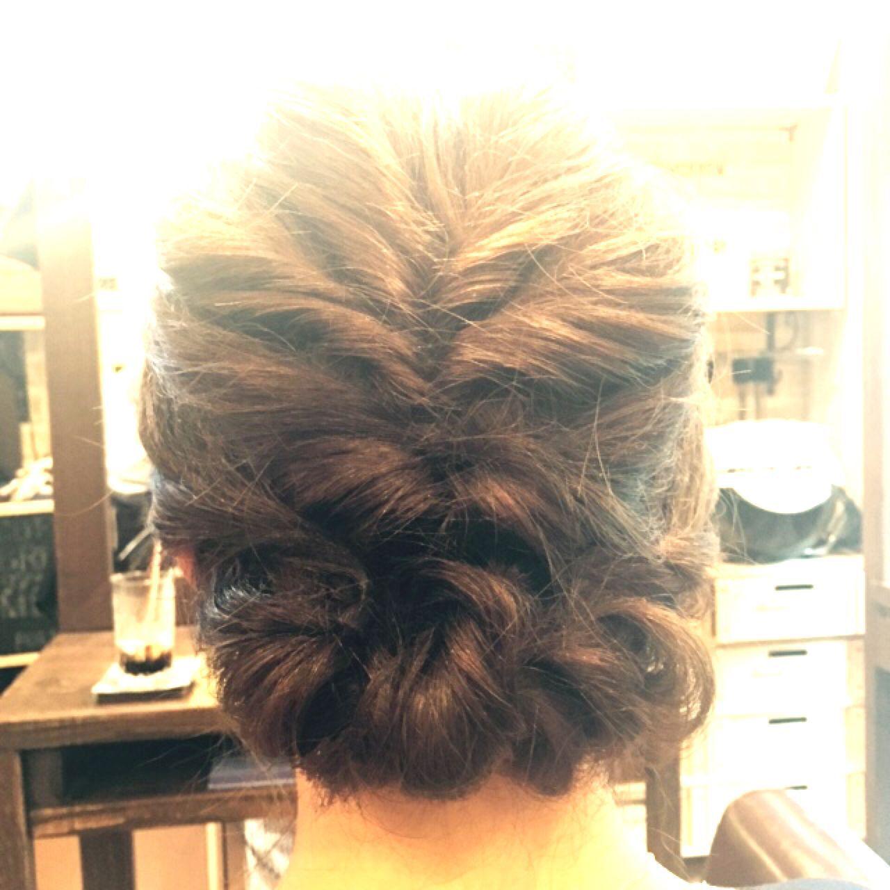 フェミニン ナチュラル モテ髪 ヘアアレンジヘアスタイルや髪型の写真・画像