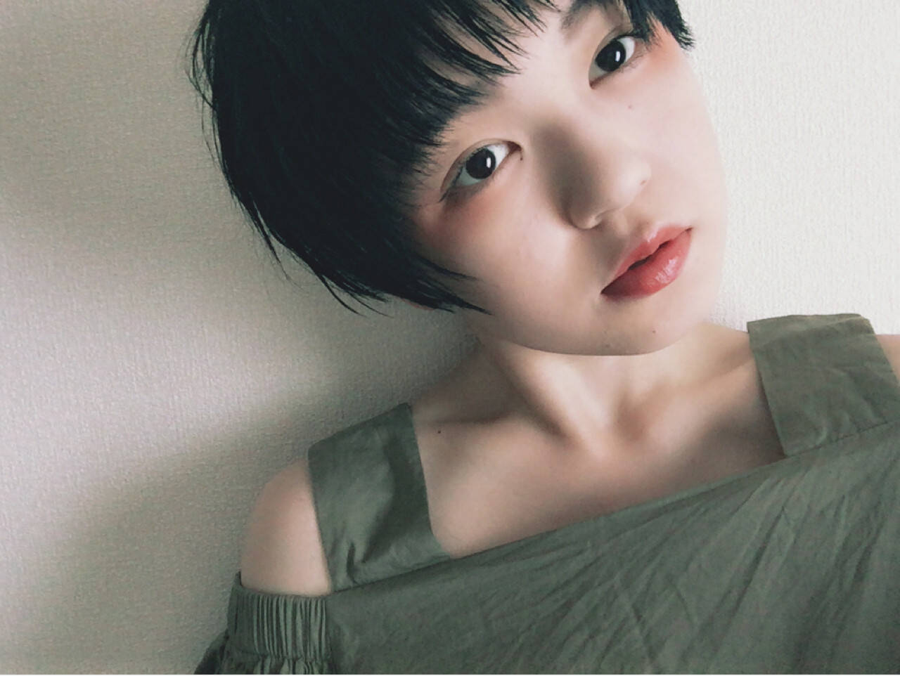 ヘアアレンジ 黒髪 ベリーショート ショートヘアスタイルや髪型の写真・画像