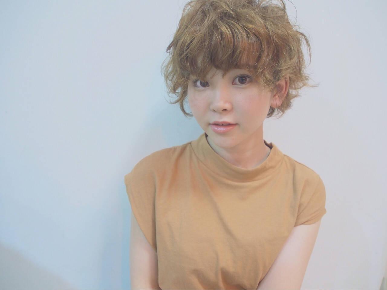 ゆるふわ パーマ ガーリー ヘアアレンジヘアスタイルや髪型の写真・画像