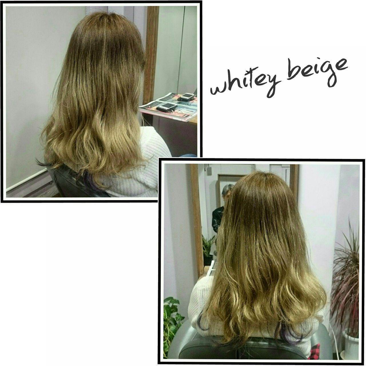 グラデーションカラー ストリート パンク ロングヘアスタイルや髪型の写真・画像
