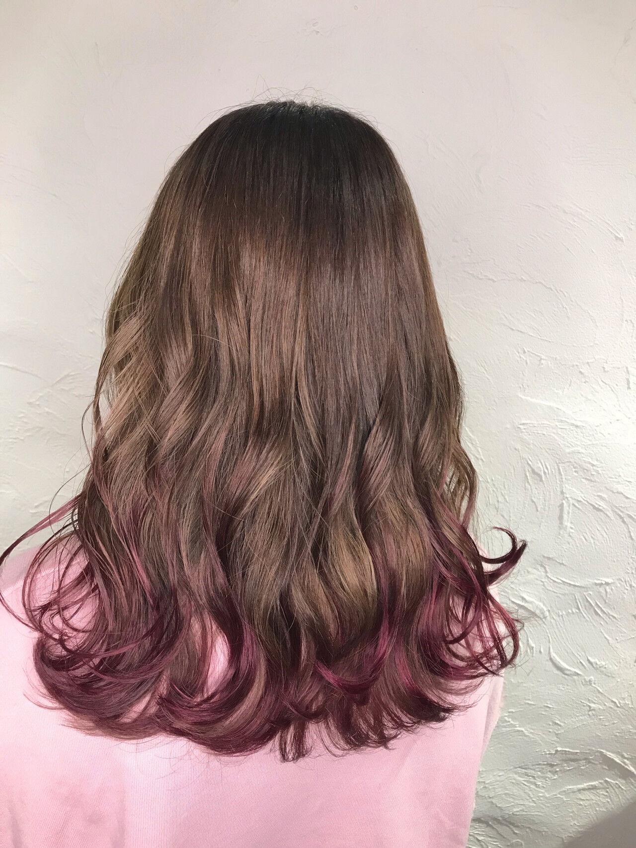 ガーリー ミディアム 簡単ヘアアレンジ デートヘアスタイルや髪型の写真・画像