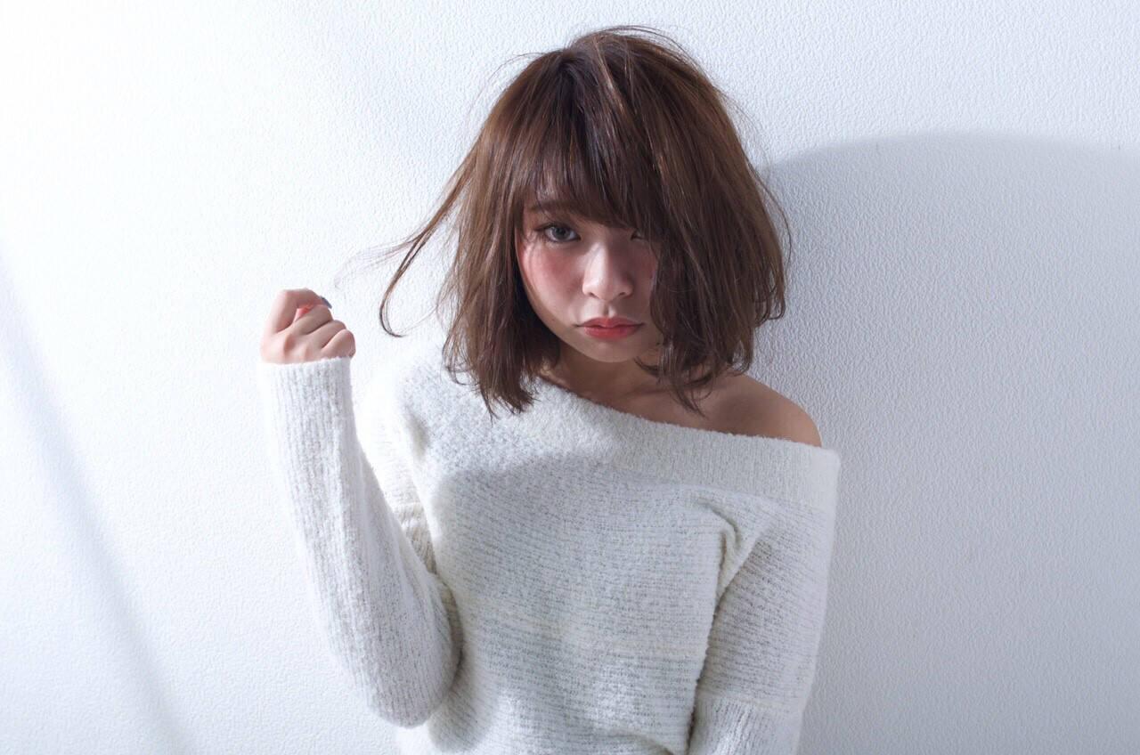 ゆるふわ 外国人風 大人かわいい ブラウンヘアスタイルや髪型の写真・画像